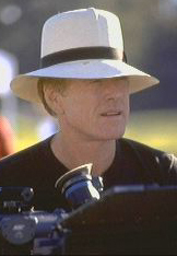Robert Redford wearing a Brent Black Panama Hat