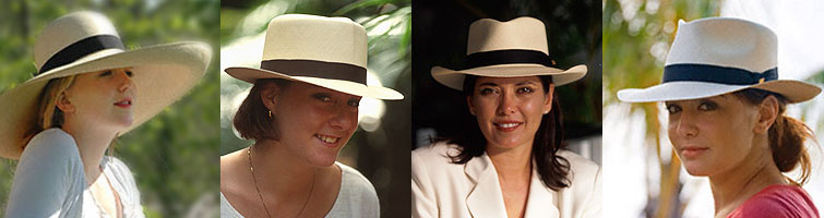 custom made montecristi panama hats for women