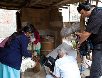 Documentary Shoot of Weavers