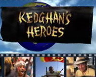 Title graphic for Keoghan's Heroes