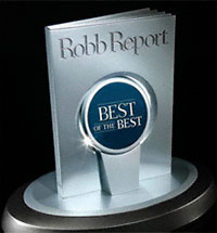 Robb Report Best of the Best Award