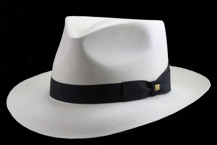 e15f379c The Blocker Shapes and Styles the Hats — Brent Black Panama Hats