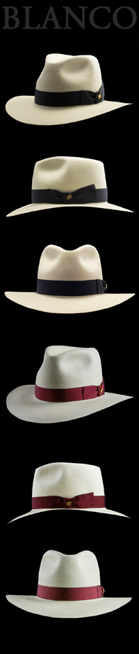Panama Hat Mombasa Safari Edition Blanco