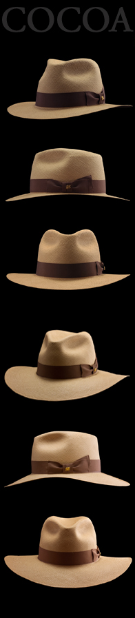 Panama Hat Mombasa Safari Edition Cocoa