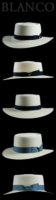 Panama Hat Bahama Beach Blanco
