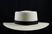 Bahama Beach Blanco genuine Panama hat - front view