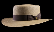 Bahama Beach Cocoa genuine Panama hat