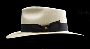 Kentucky Smith Blanco genuine Panama hat - side view