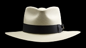 Kentucky Smith Blanco genuine Panama hat - front view