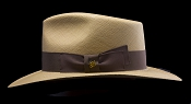 Kentucky Smith Cocoa genuine Panama hat - side view