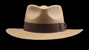 Kentucky Smith Cocoa genuine Panama hat - front view
