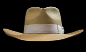 Lady West SE Cocoa genuine Panama hat - back view