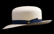 Foldable Montecristi Panama Hat - Side View