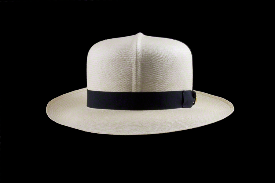 ... Foldable Montecristi Panama Hat - Front View ... 4f6b90a6fff
