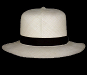 How to roll up a Panama hat 2