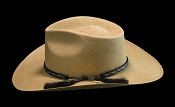 West Panama SE Cocoa genuine Panama hat - top view