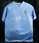 Pile football club jersey blue