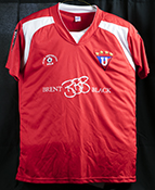 Pile football club jersey red